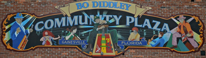 Photo of Bo Diddley Community Plaza