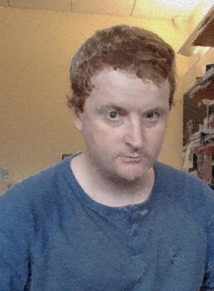 Portrait image of Aaron Fleisher