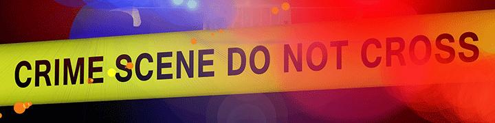 "Image of a yellow crime-scene tape that reads ""Crime Scene Do Not Cross"""
